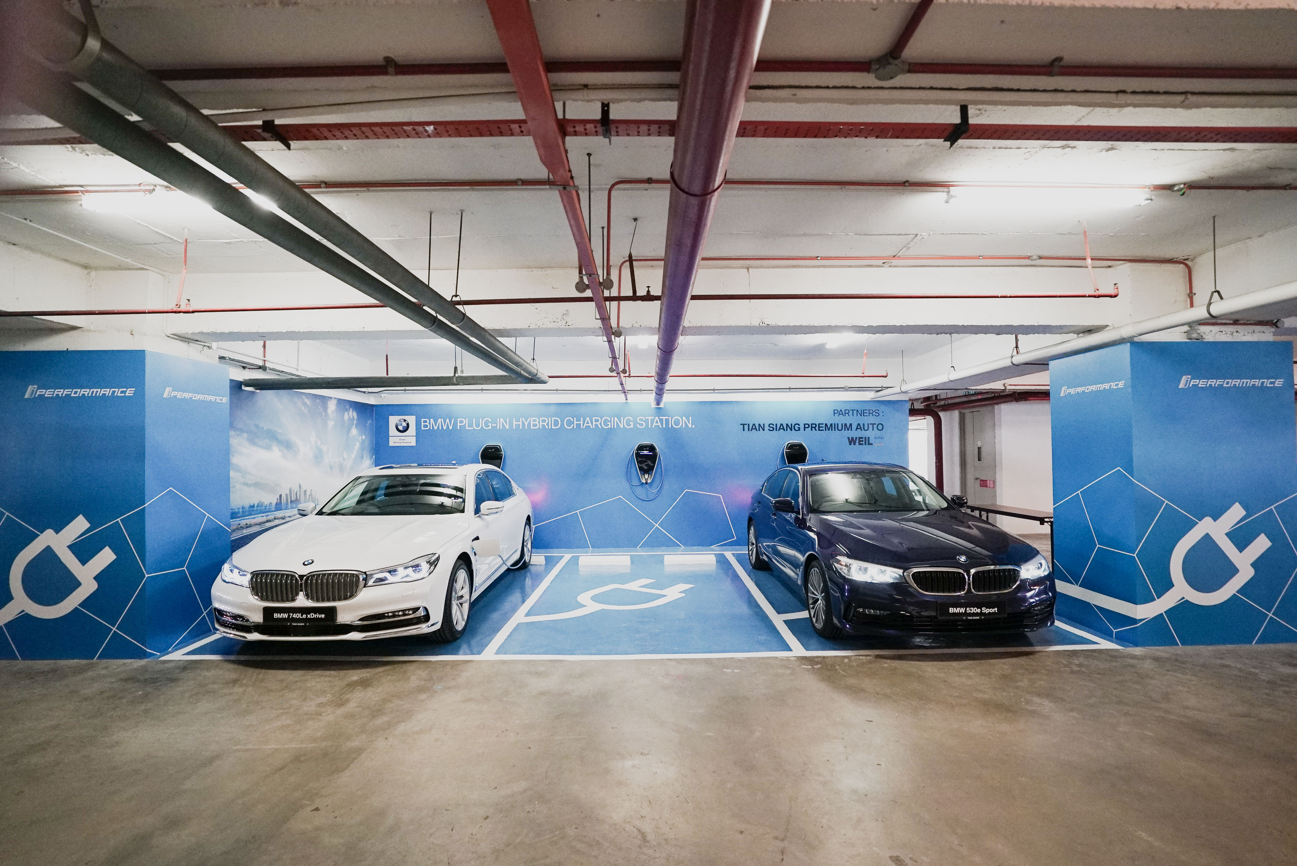 Full Charge Ahead. BMW i Charging Stations unveiled at WEIL Hotel ...