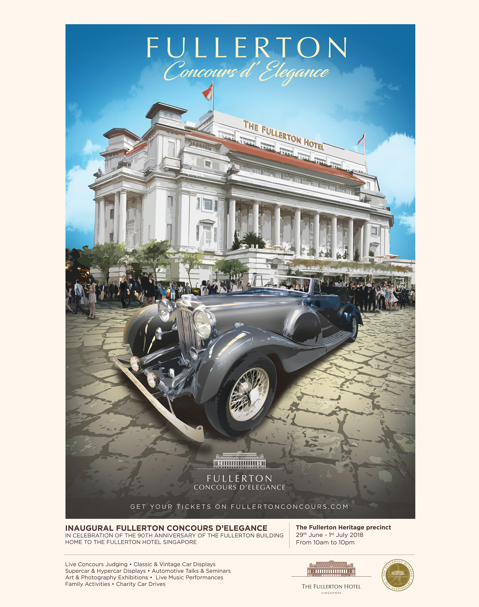 The 2018 Fullerton Concours D Elegance 29th June 1st July 2018