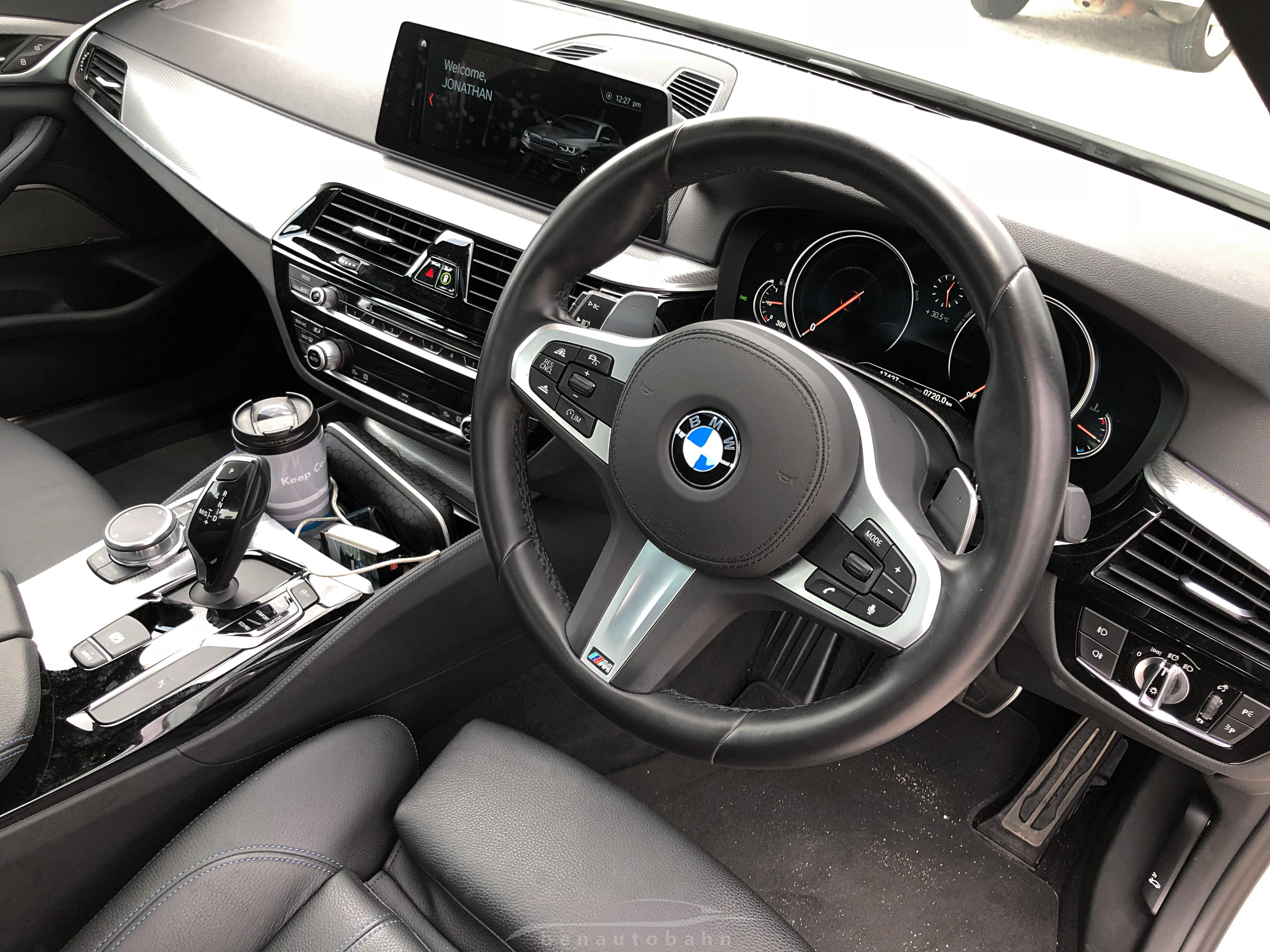 Sporty Suit & Tie  The BMW 530i M Performance Review