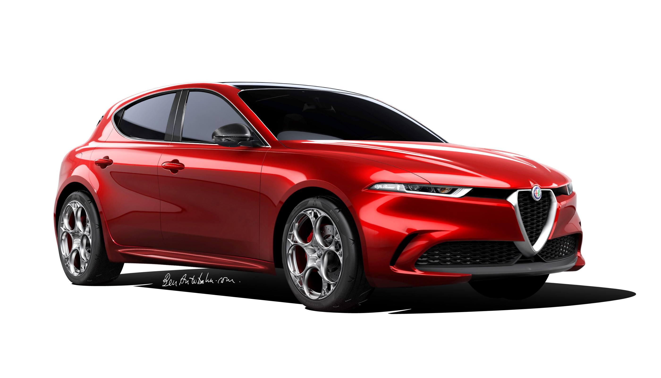 Next-gen Alfa Romeo Giulietta re-imagined! – BenAutobahn